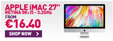 "Apple iMac 27"" leasing in ireland"